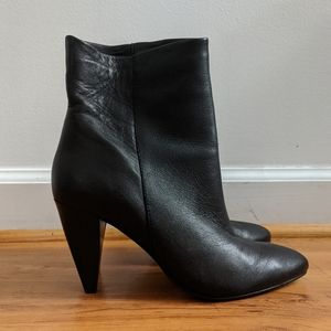 Dolce Vita black heeled booties Sz 7.5